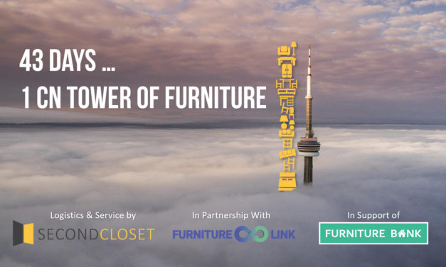 How Toronto's fastest growing 'valet storage' startup Second Closet is helping Furniture Bank increase social impact.